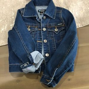 Girls Tractor jean jacket size 7